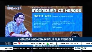 Animator Indonesia di Balik Film Avengers