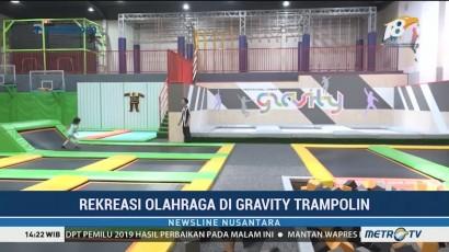 Rekreasi Olaharga di Gravity Trampoline Park Semarang