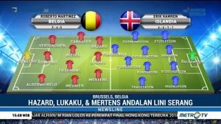 Belgia Diprediksi Menang Mudah atas Islandia
