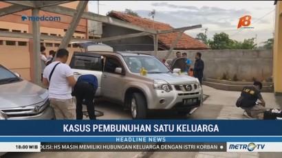 Polisi Periksa Mobil yang Dikendarai Pelaku Pembunuhan Keluarga