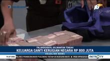 Terpidana Korupsi Pasar Pelita Hilir Bayar Ganti Rugi Rp800 Juta
