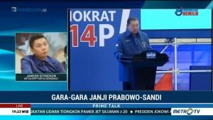 Demokrat Ingin Koalisi Prabowo-Sandi Saling Dukung di Pileg