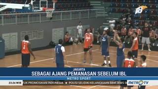 Satria Muda & Pelita Jaya Gelar Latih Tanding