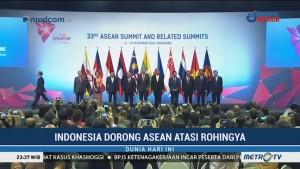 Indonesia Dorong Isu Rohingya di KTT ASEAN