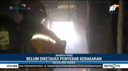 Ruang Olahraga Kementerian Pertahanan Terbakar