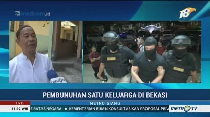 Kronologi Tertangkapnya Pelaku Pembunuhan Keluarga di Bekasi