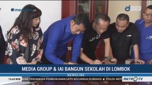 Media Group dan IAI Bangun Sekolah di Lombok