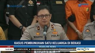 Polisi Tetapkan HS Tersangka Pembunuhan Satu Keluarga di Bekasi