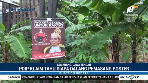 PDIP Sebut Poster 'Raja Jokowi' Bentuk Kampanye Hitam