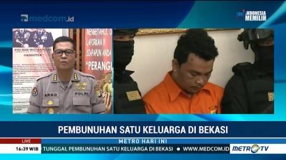 HS Bunuh Satu Keluarga di Bekasi Karena Sakit Hati