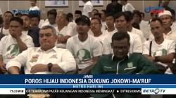 Poros Hijau Jambi Deklarasi Dukung Jokowi-Ma'ruf