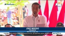 Presiden Jokowi Resmikan Monumen Kapsul Waktu di Merauke