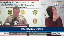 Kebakaran Hutan di California, 63 Orang Tewas dan Ratusan Hilang