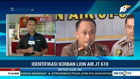 Total 95 Korban Lion Air Telah Teridentifikasi