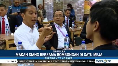 Lawatan Padat Jokowi di Singapura