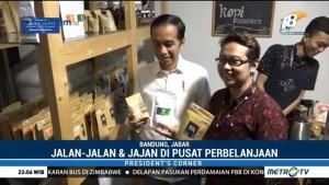 Jokowi Bertemu Anak Muda Pegiat Ekonomi Kreatif di Bandung