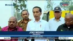 Jokowi Tinjau Pembangunan PLBN Sota Merauke