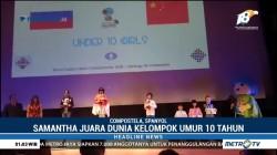 Samantha Edithso, Pecatur Cilik yang Kembali Raih Gelar Juara Dunia