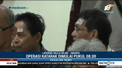 Metro TV Gelar Operasi Katarak Gratis