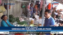Ma'ruf Amin Temui Warga Batam, Sandiaga Kunjungi Pasar di Sleman