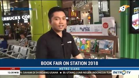Keseruan Book Fair on Station 2018 di Gambir