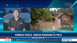 Sempat Surut, Banjir di Desa Bangga Kembali Meninggi