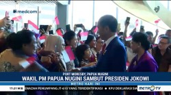 Tiba di Port Moresby, Jokowi Disambut Hangat Warga Papua Nugini