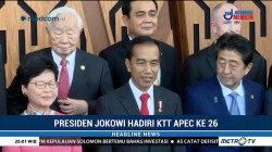 Jokowi Hadiri Sejumlah Kegiatan di Hari Pertama KTT APEC 2018