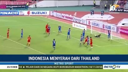 Timnas Indonesia Takluk 2-4 dari Thailand