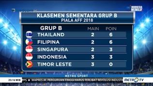 Filipina Geser Indonesia dari Puncak Klasemen Piala AFF 2018