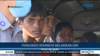 Myanmar Tangkap 106 Warga Rohingya yang Hendak Kabur
