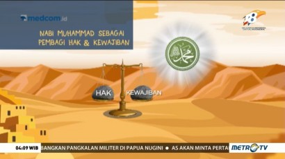 Syiar Sirah Nabawiyah: Tugas Muhammad SAW sebagai Qasim (1)