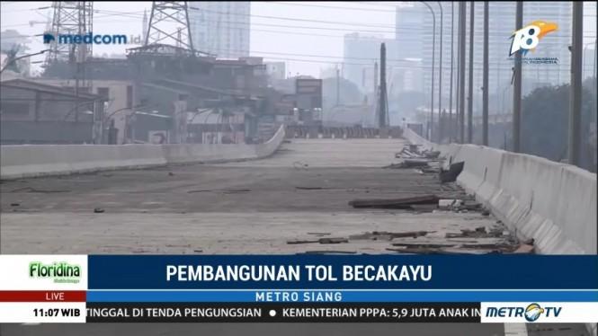 Pembangunan Tol Becakayu Seksi IA Capai 85 Persen