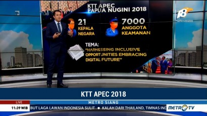 Data dan Fakta KTT APEC 2018