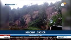 Dua Alat Berat Diterjunkan Bersihkan Material Longsor di Mamasa