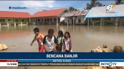 Sudah Seminggu Pasangkayu Terendam Banjir
