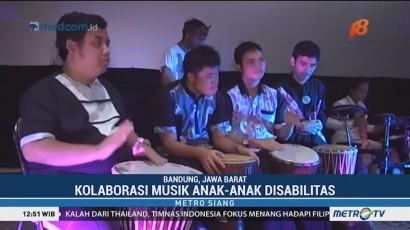 Pertunjukan Musik Anak-anak Disabilitas