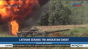 TNI AD Gelar Latihan Tempur di Baturaja