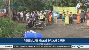 Warga Bogor Digegerkan Penemuan Mayat dalam Drum