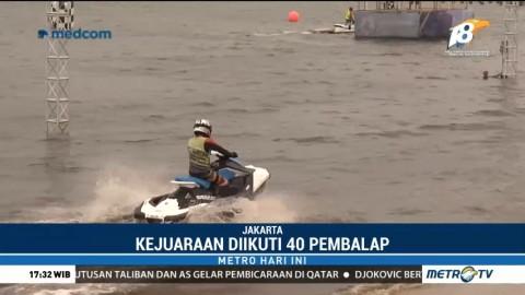Kejurnas Jetski Talent 2018 Diikuti 40 Pembalap