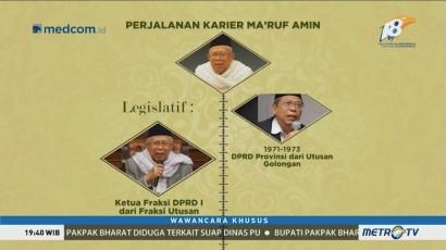 Wawancara Khusus Bersama KH Ma'ruf Amin (3)