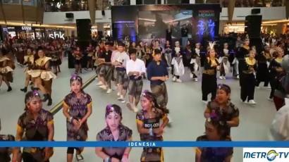 Keseruan Indonesia Menari di Bandung