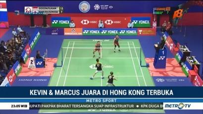 Kevin/Marcus Juara Hong Kong Terbuka 2018