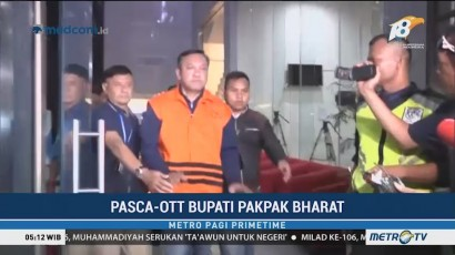 Ditahan KPK, Bupati Pakpak Bharat Bungkam