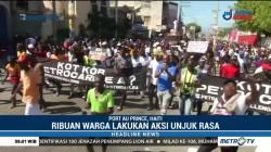 Warga Haiti Demo Terkait Dugaan Penyalahgunaan Bantuan Minyak