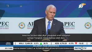 KTT APEC Gagal Damaikan AS-Tiongkok