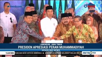 Jokowi Ucapkan Selamat Milad ke-106 Muhammadiyah