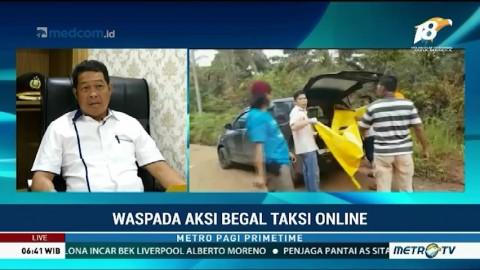 Polda Sumsel Tangkap 3 Pelaku Pembunuhan Sopir Taksi Online