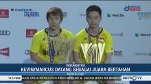 Rekor Baru Kevin/Marcus Setelah Juara Hongkong Terbuka