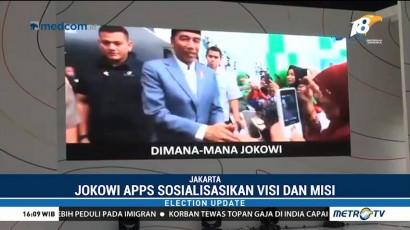 Jokowi App Sosialisasikan Visi dan Misi